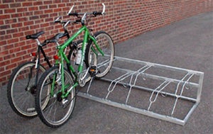 Single Sided Free standing bike rack