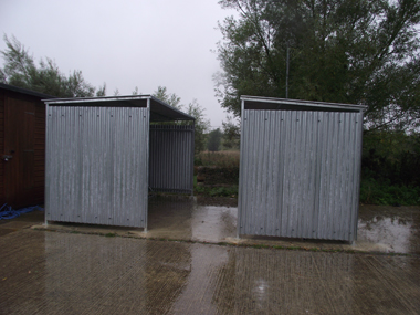 Traditional-Galvanised-Cycle-Bike-Bicycle-Shelter