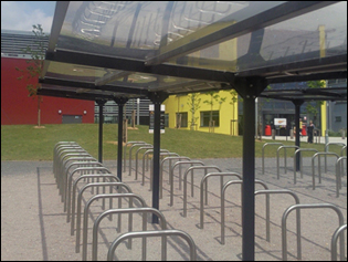 Y frame Cycle Shelter