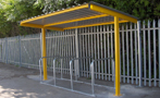 COVERED CYCLE SHELTERS